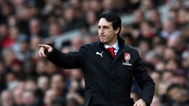 Unai Emery believes Arsenal's result at Old Trafford will be a good indicator of how far they have come