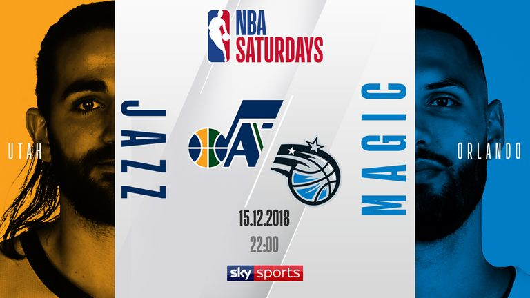 NBA Saturdays - Jazz @ Magic