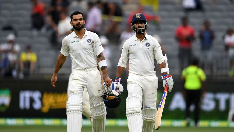 India vs Australia, 2nd Test Day 3