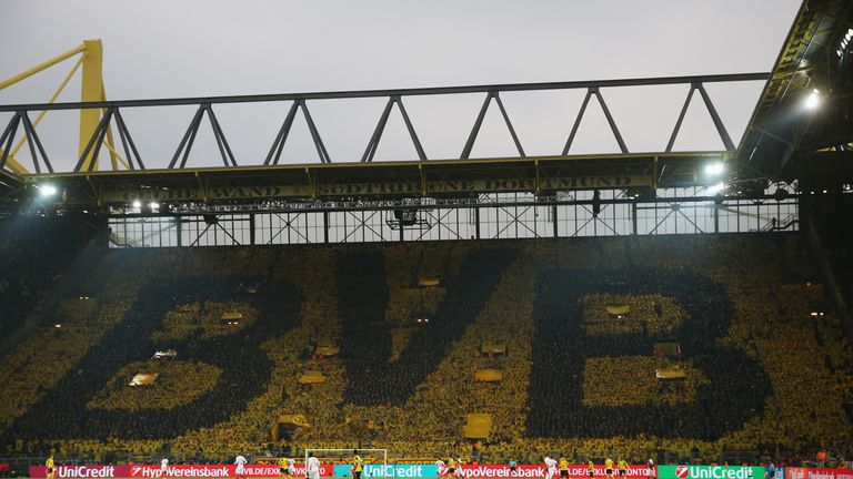 Spurs will travel to the Westfalenstadion for their second leg against Dortmund