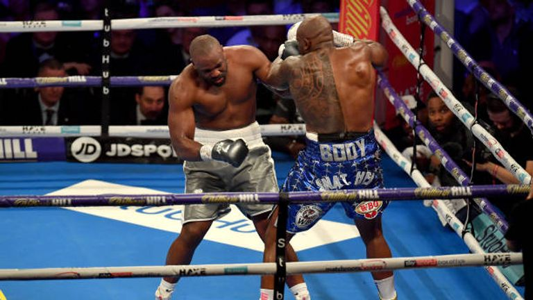 Whyte KO'd Chisora in 11 rounds