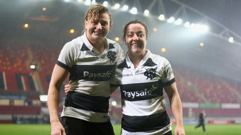 The Barbarians are a team which should be used in women's rugby more