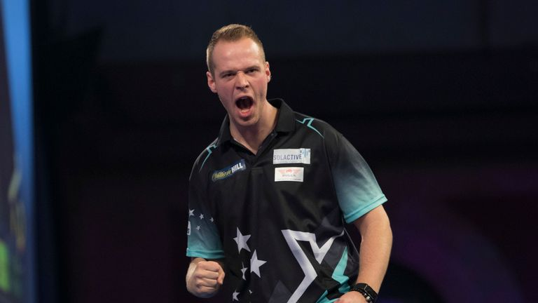 Max Hopp said he is ready and prepared to take on Michael van Gerwen next Saturday night
