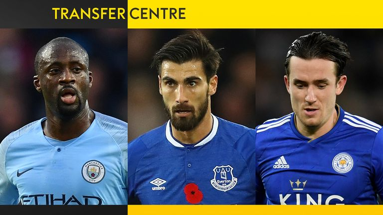 TRANSFER CENTRE YAYA TOURE ANDRE GOMES BEN CHILWELL