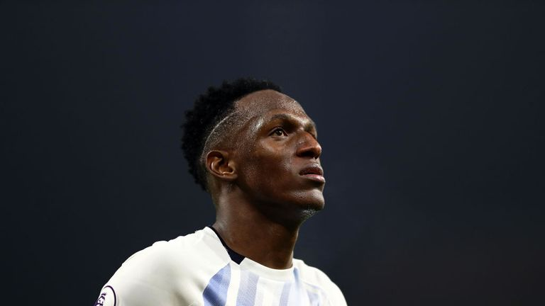 Yerry Mina has secured a milestone for Everton