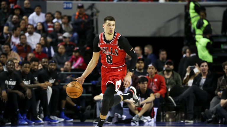 24ee71d1c34 Chicago Bulls guard Zach LaVine out for up to four weeks