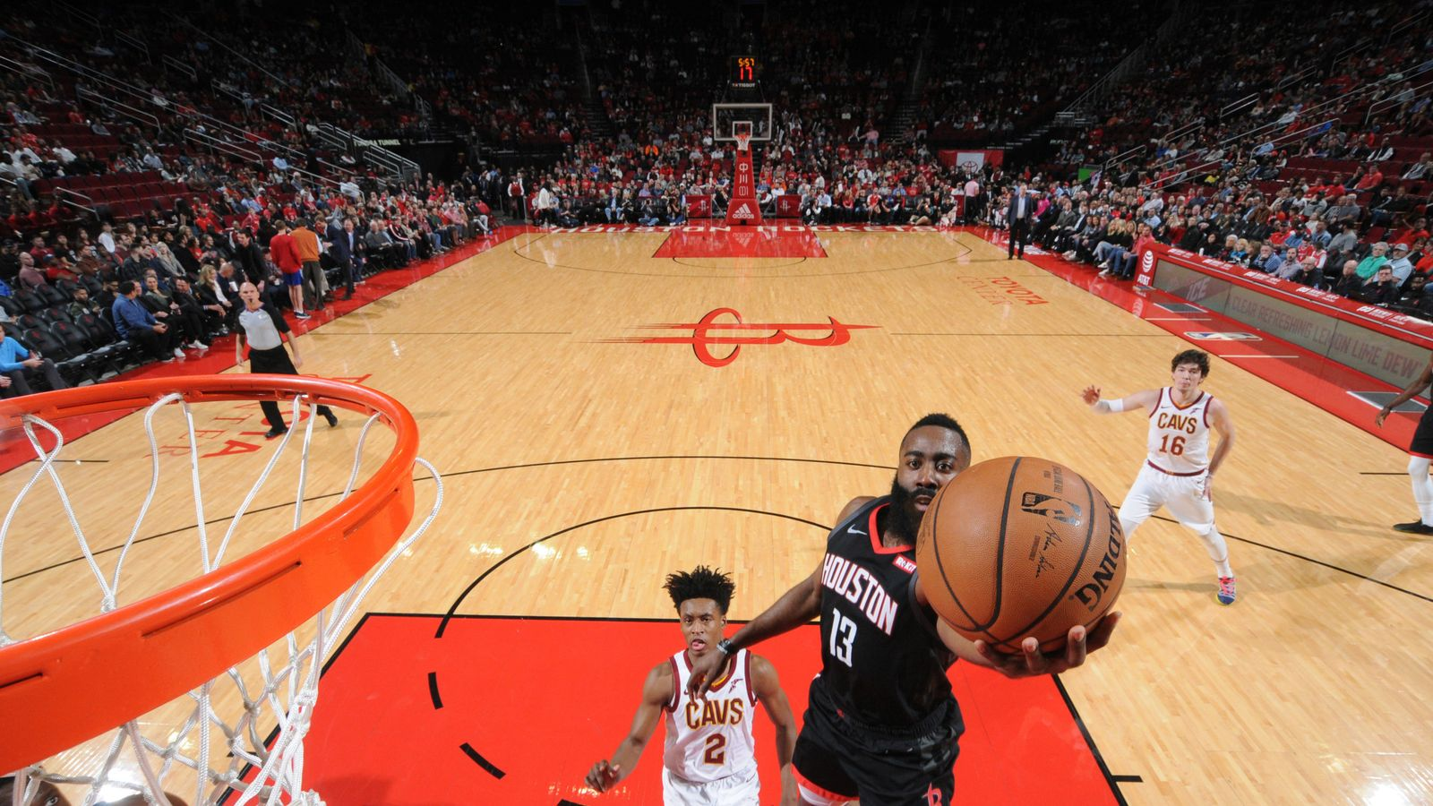 30ca24633bb James Harden posts 43-point triple-double as Houston Rockets hammer  Cleveland Cavaliers