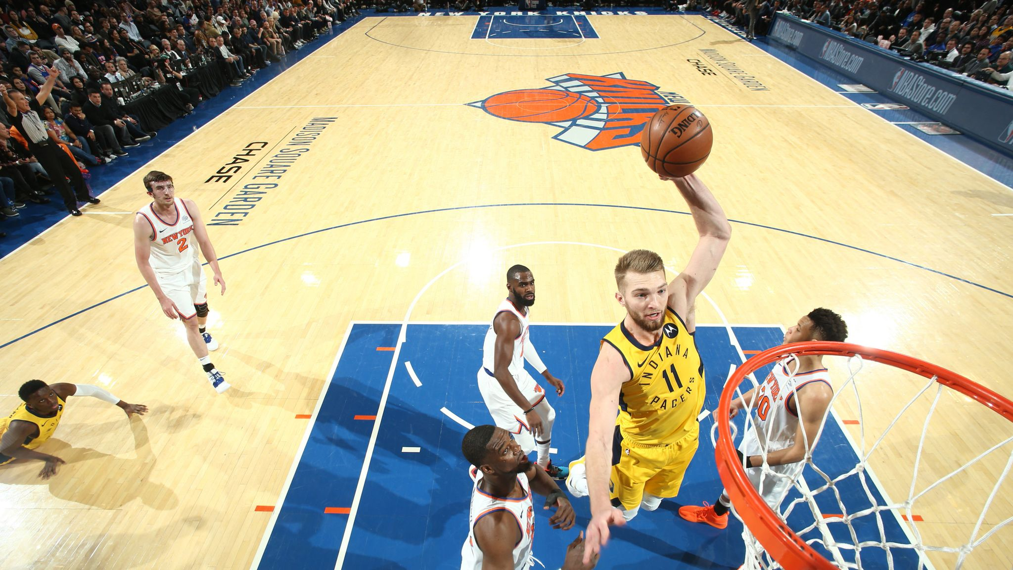 Indiana Pacers sign Domantas Sabonis to $77m extension