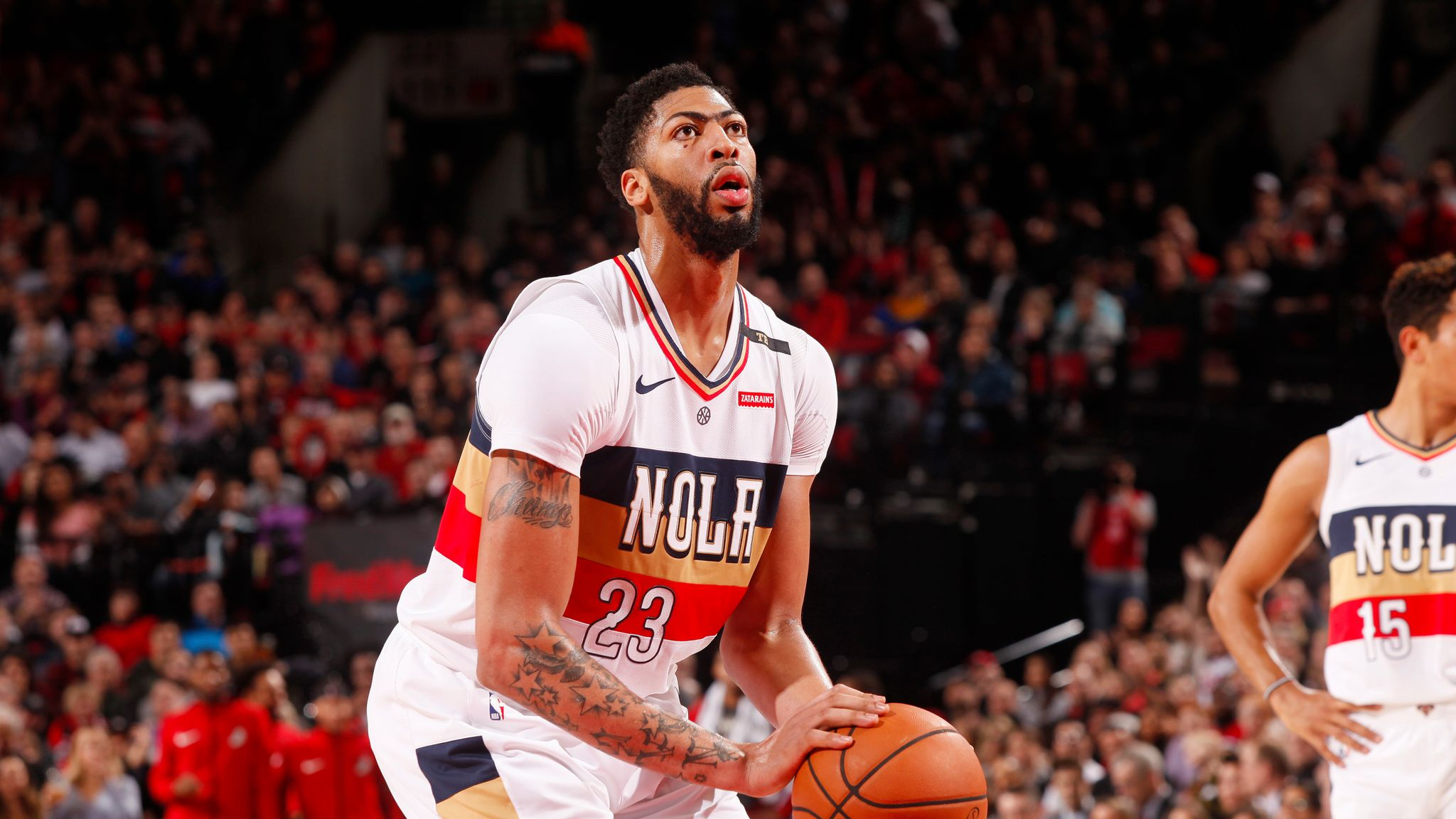 New Orleans Pelicans' Anthony Davis out for up to two weeks