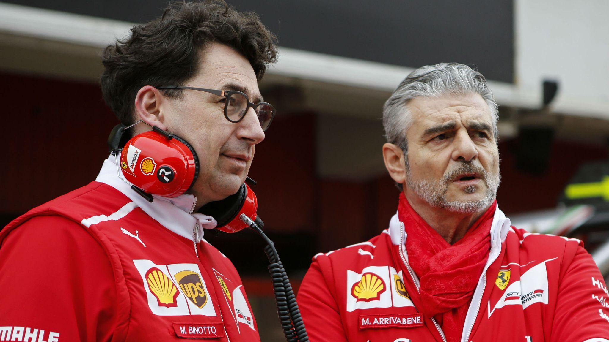 Ferrari Replace Team Boss Maurizio Arrivabene With Mattia Binotto F1 News