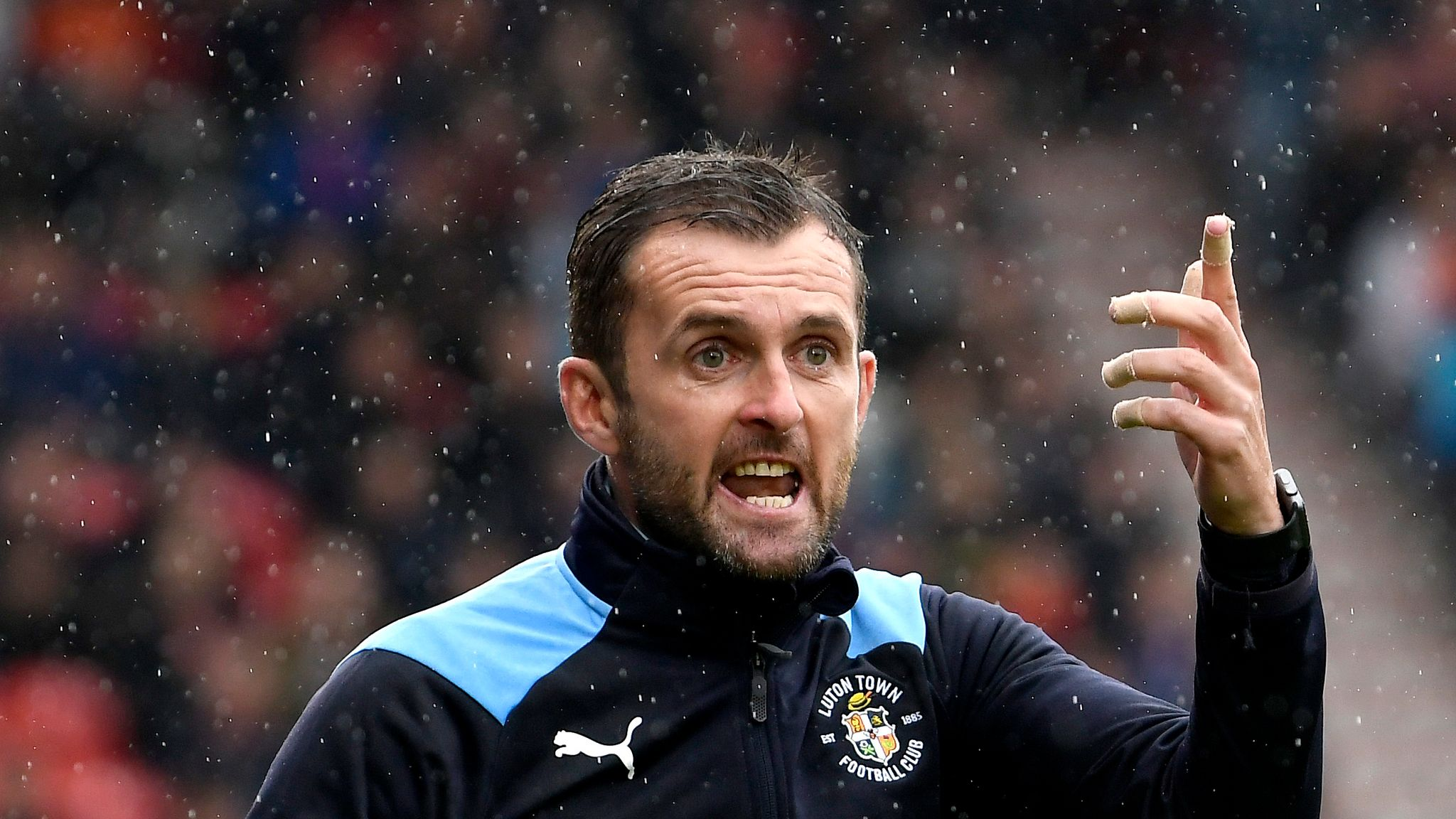 Image result for nathan jones manager