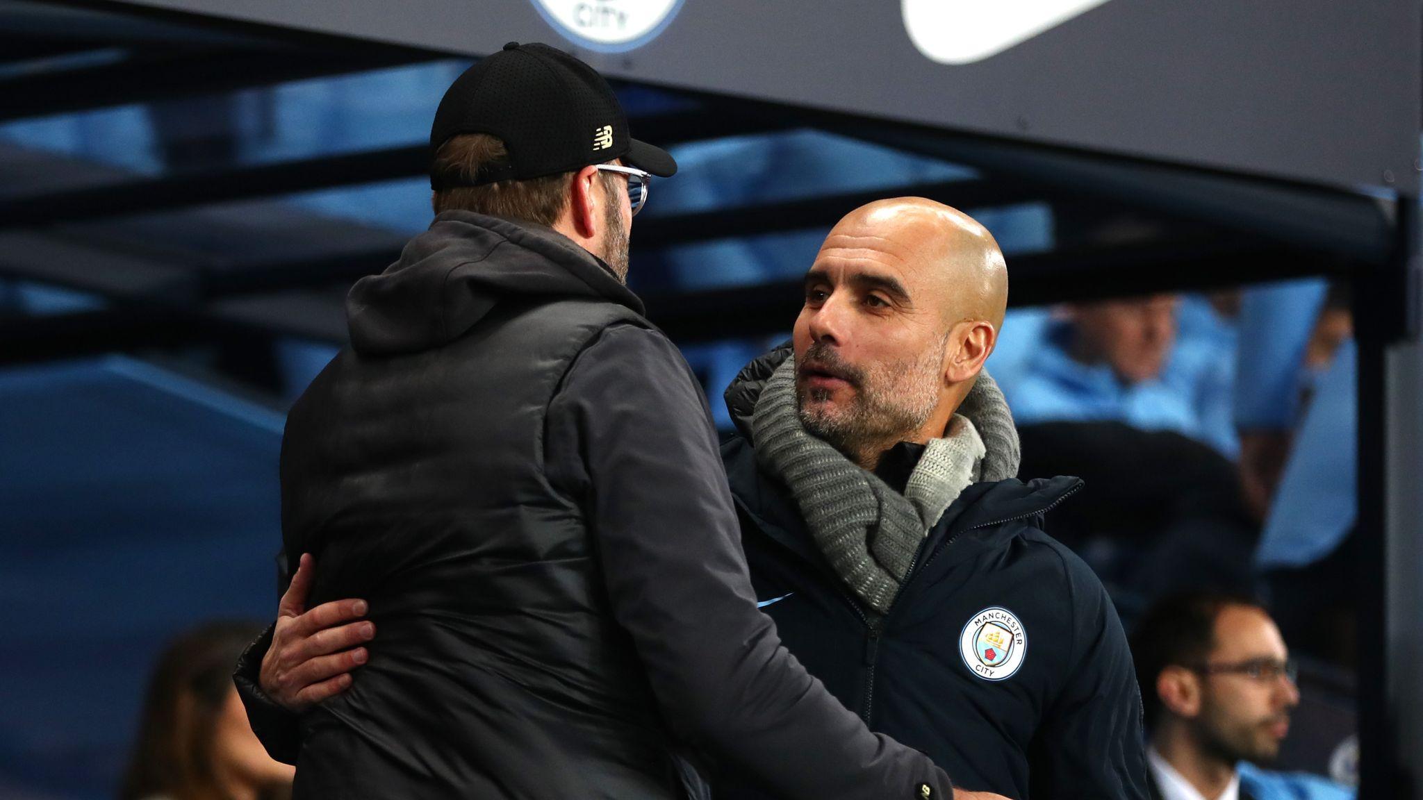 Liverpool a class apart this term, says Man City boss Pep Guardiola