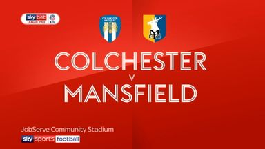 Colchester v Mansfield