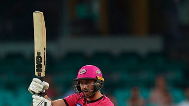 James Vince, Sydney Sixers, Big Bash vs Brisbane Heat