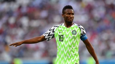 John Obi Mikel is close to a return to England as he is undergoing a medical with Middlesbrough