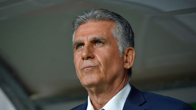 Carlos Queiroz had been in charge of Iran since 2011