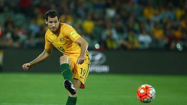 Australia international Ryan McGowan has joined Dundee on loan