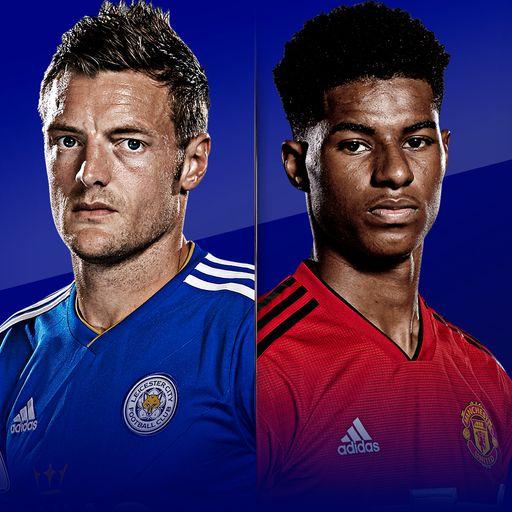Sky Live: Leicester vs Man Utd