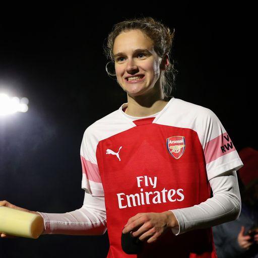 Arsenal trio named in PFA's Woman's team