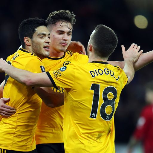 Wolves knock out Liverpool