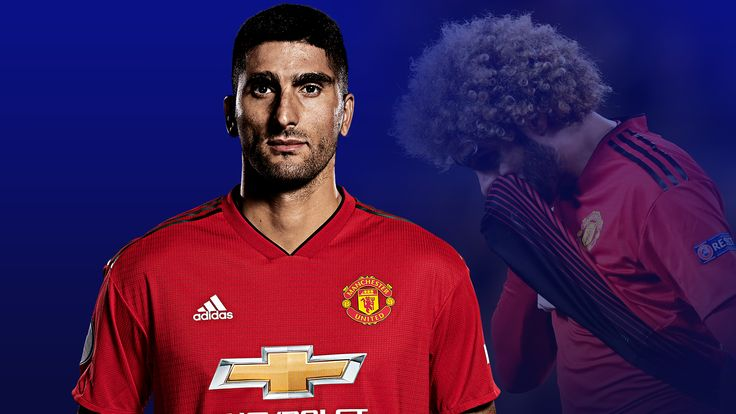 Marouane Fellaini is on his way to China