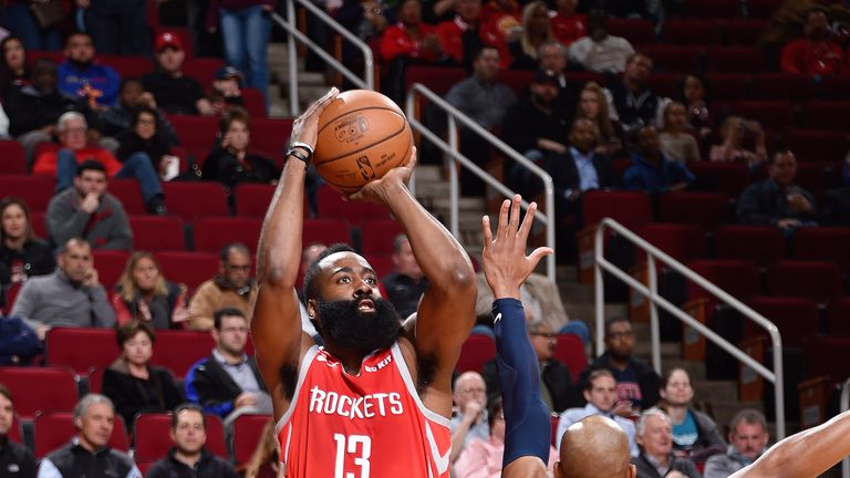 aee030e42c22 James Harden scores season-high 57 points as Houston Rockets trounce ...