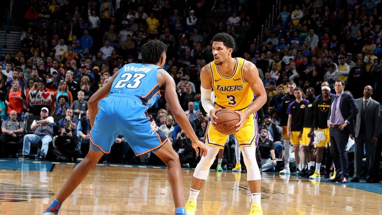 Lakers G (knee) ruled out for remainder of season