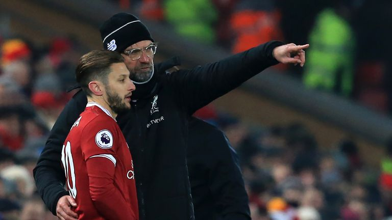 Adam Lallana missed the majority of last season through injury