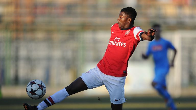 Maitland-Niles features for Arsenal's U19s in the UEFA Youth League