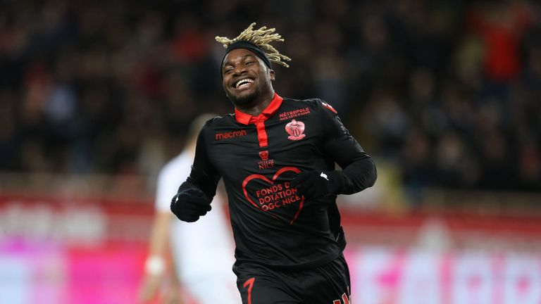 AC Milan have reportedly agreed a deal in principle to sign Allan Saint-Maximin from Nice
