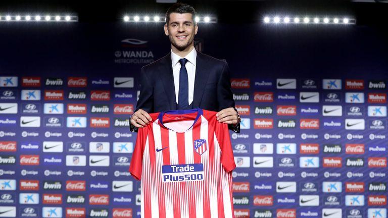 Alvaro Morata sealed a return to Atletico Madrid on Monday