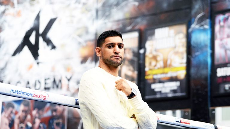Amir Khan is set to announce a fight against Terence Crawford