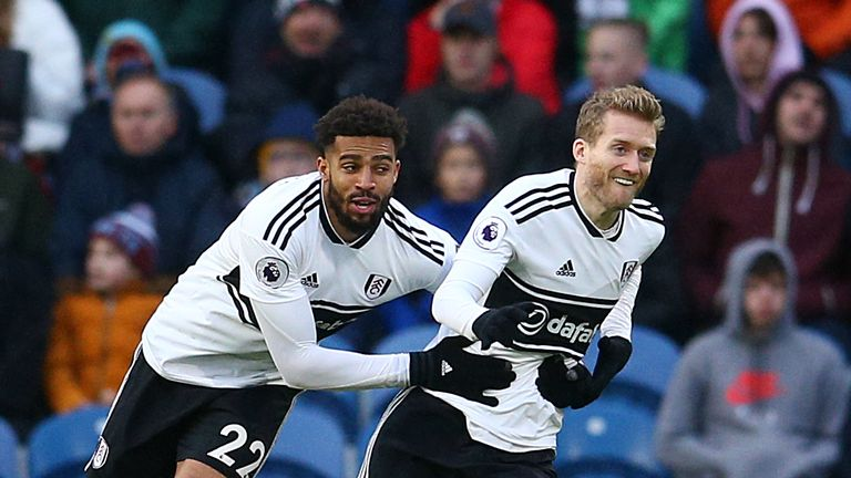 Andre Schurrle's screamer put Fulham in front