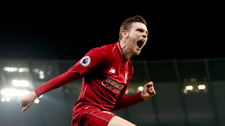 Andy Robertson has extended his Liverpool contract