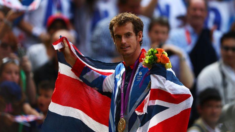 Murray won Olympic gold at London 2012