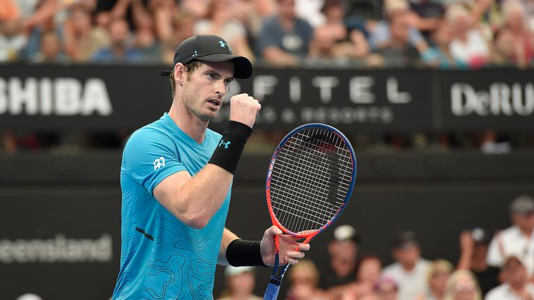 Andy Murray's comeback bid halted by Daniil Medvedev in Brisbane