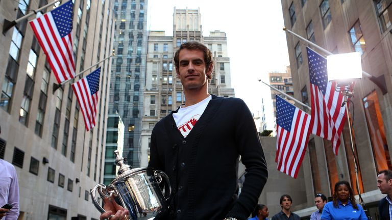 Murray won the 2012 US Open
