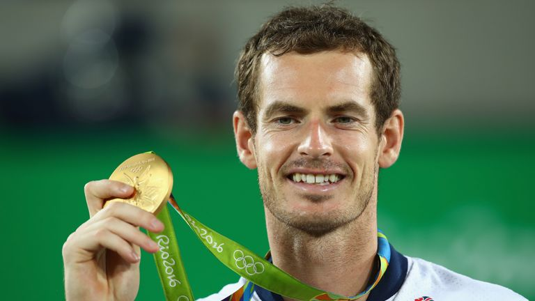 Murray won the top prize at the 2016 Olympics
