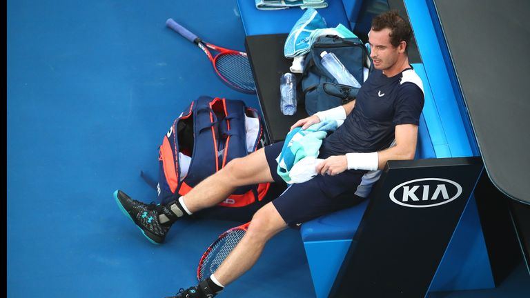 Murray is considering a second hip operation, which could end hopes of playing at Wimbledon this summer