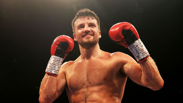 Anthony Fowler is part of a talented trio of super-welterweights