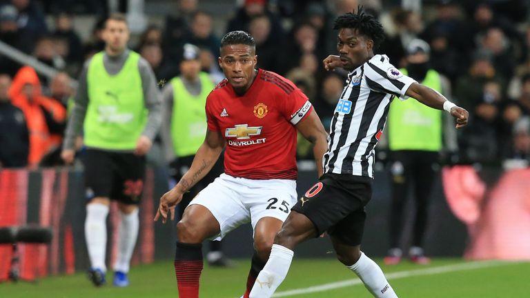 Antonio Valencia will miss Man Utd's trip to Fulham