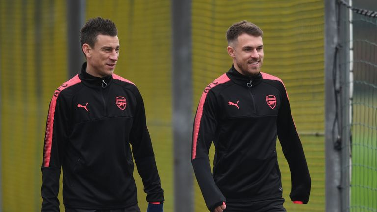 Aaron Ramsey and Laurent Koscielny have been team mates since 2010