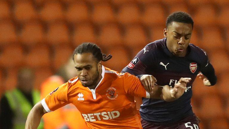 Willock (R) impressed against Blackpool