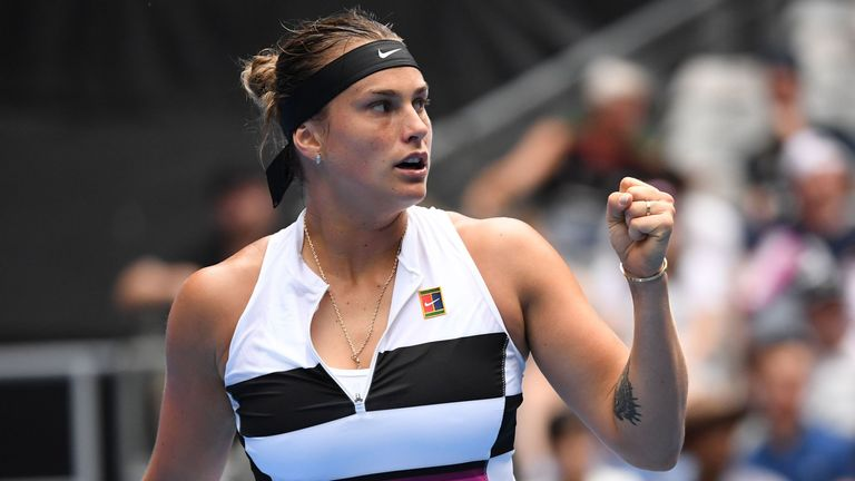 Australian Open: Fans fight over Aryna Sabalenka's headband