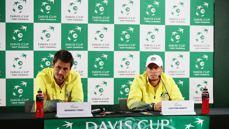Tomic has not played Davis Cup tennis for Australia since 2016