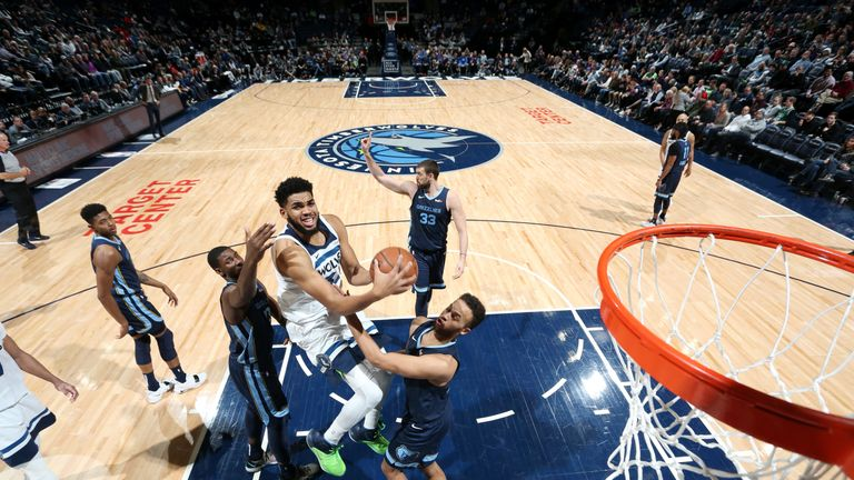 Grizzlies v Timberwolves