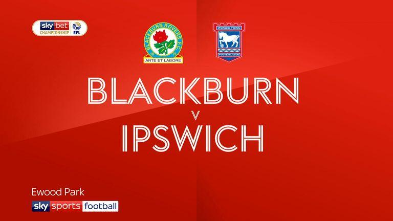 Blackburn v Ipswich