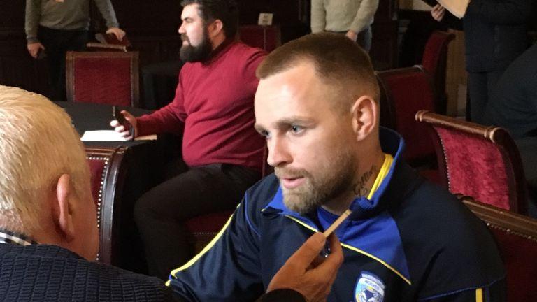 Blake Austin is Warrington's high-profile off-season recruit