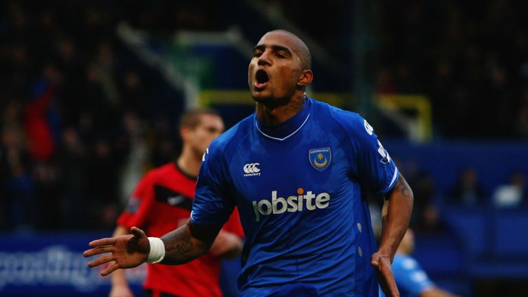 Boateng was a fan favourite at Fratton Park as he featured in the team that got to the FA Cup final in 2010