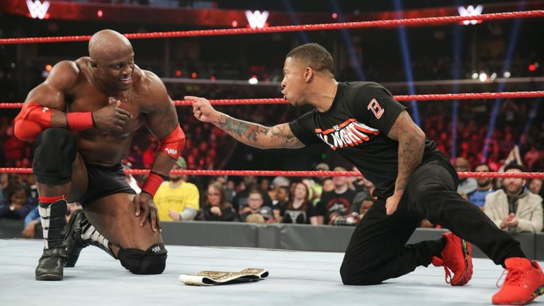 Bobby Lashley was indebted to Lio Rush as he won the Intercontinental title from Dean Ambrose